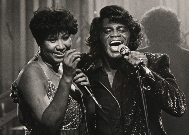 Aretha Franklin, James Brown