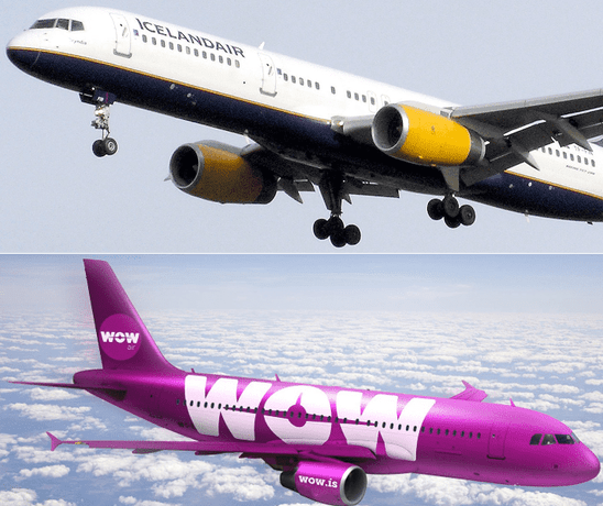 two airlines
