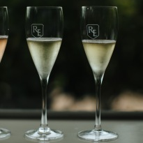 Sparkling wines photographed at the Roederer Estate's tasting room in Philo , Calif., Friday, May 25, 2018.